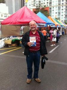 Dr. Ben at the Miami Book Fair 2011
